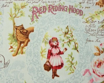 Red Riding Hood - Green  by Lecien - Printed in Japan
