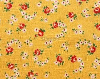 Cute flower - Yellow by  Atsuko Matsuyama - Printed in Japan