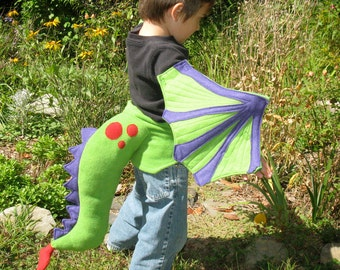 Child's Dragon Tail and Wings Set perfect for SToMpING AND SOARing