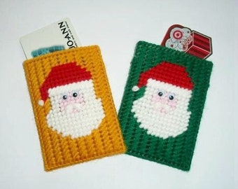 Santa Claus Gift card Holders - Set of 2 ~ Christmas in July