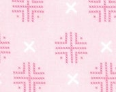 Sew Stitchy from Aneela Hoey for Moda, check dots carnation 1 YARD