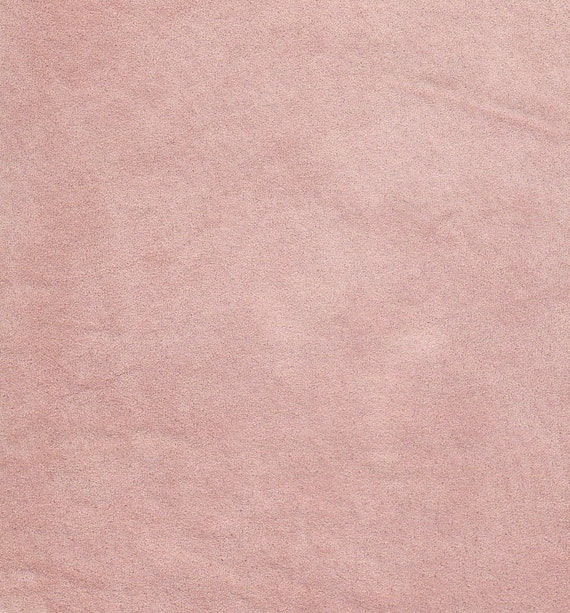 3597 -  -Recycled 100 Percent Genuine SUEDE leather - Very very pale pink