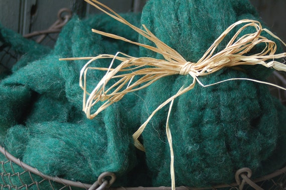 Evergreen Green Roving
