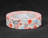 Shinzi Katoh Masking Tape - Flying Balloons- for scrapbooking, birthday party favor, gift wrapping, craft projects