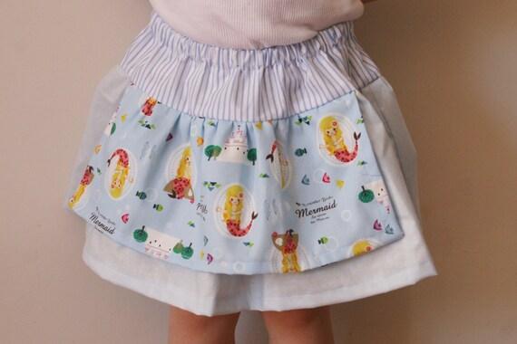Fairy Tale Mermaid Twirly Skirt