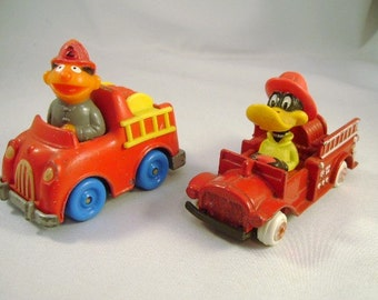 Vintage Muppets and Looney Tunes FIRE ENGINE