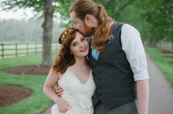 bridal headband, wedding accessories, woodland wedding, bridal headpiece, rustic wedding country chic woodland wedding berries halo