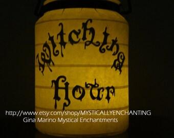 SALE Halloween Lantern Witching Hour