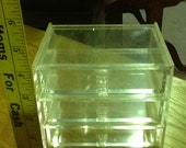Lucite Jewelry Box