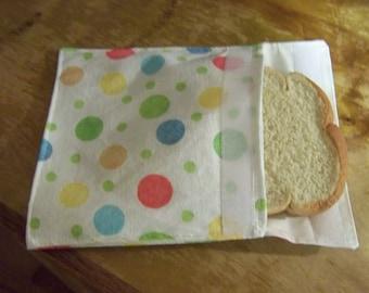Sandwich bag,Reusable Sandwich Bag for kids,snack bag,eco friendly lunch bags