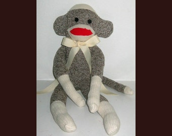 Mr. Monkey Doll Needs a Home