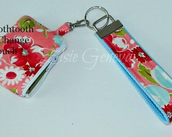 Choose Any Fabric in My Shop Bluetooth Case - Pouch & Key Fob - Chain - Wristlet