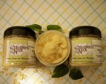 Foaming Sugar Scrub - Oatmeal Milk and Honey