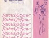 Misses Slacks - Shorts Pattern - Vintage Ann Person Stretch & Sew No 700 - Sizes 30 to 46 - Original - Uncut