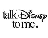 Talk Disney to Me - Decal Sticker Window Vinyl