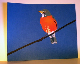 Robin Red Breast 8x10