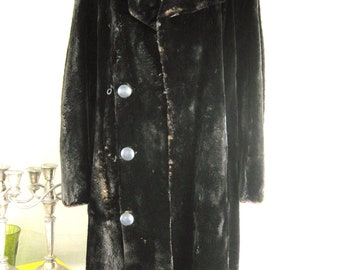 Vintage Womens Beaver Car Coat, Fur, Pea Coat, Winter Jackets, Natural, Classic Style, Preppy, Outerwear, Clothing, Ladies, Fashion