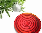 "Red Hot ""Hot Stuff"" Resin Hot Plate or Trivet"