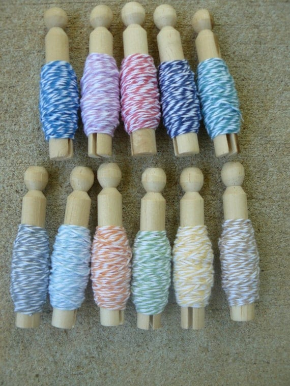 RESERVED for celyons NEW COLORS The Twinery Baker's Twine