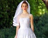 My 1950's Mad Men Wedding Dress