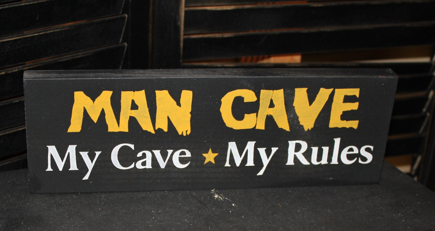 Steelers Man Cave Signs : Ready to ship man cave pittsburgh steelers by