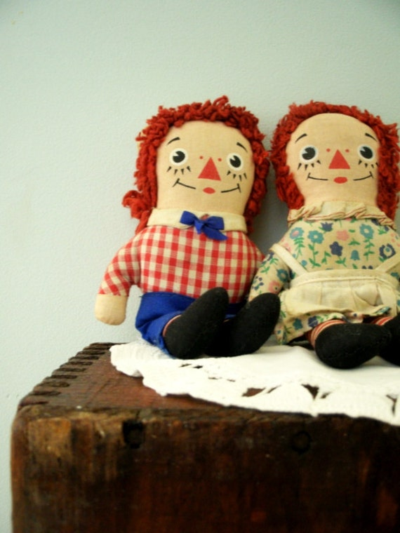 Vintage Raggedy Ann And Andy 60
