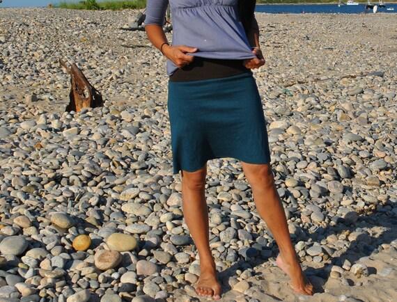 Sample Sale - Mini Organic Pencil Skirt (hemp/organic cotton knit)