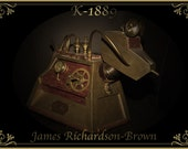 K-1889 - Internationally displayed steampunk version of Dr Who's K-9