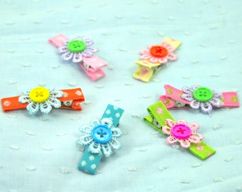 6 lace clips