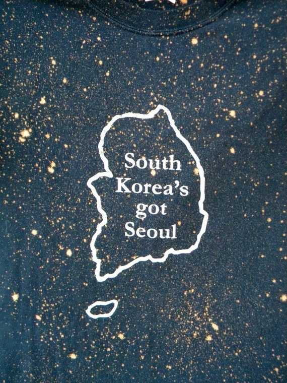 South Korea's Got Seoul Upcycled Style Reconstructed Tee Tank X Large