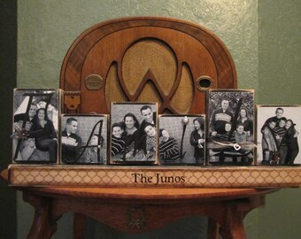 Photo Blocks  Sign - Customized Family Sign- Personalized and Customized Word Blocks