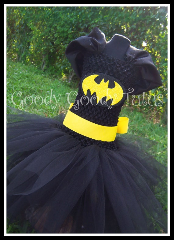 I'M BATGIRL Batman Inspired Tutu Dress - Medium 2/3T
