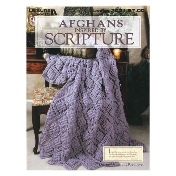 Free Crochet Pattern Leaflets : Leisure Arts Crochet Pattern Leaflet Afghans Inspired by