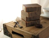 Mocha all natural soap with coffee and chocolate