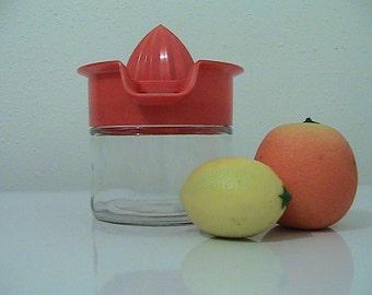 Vintage Orange GEMCO Juicer - Lemons