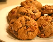 Gourmet Bacon Chocolate Chip Cookies - frisch