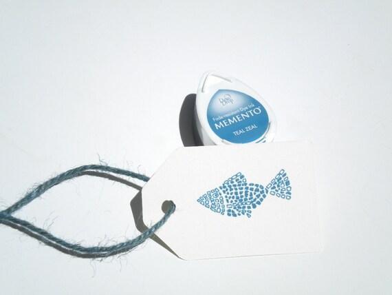 Memento Fade-Resistant Dye Ink Pad TEAL ZEAL