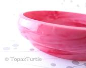 Pink bracelet , fushia bracelet , Resin Bangle , Bracelet Jewelry , Swirl Bangle ,Thin Bracelet , Bangle Jewellery , Women band bracelet