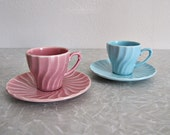 Beautiful Set of Poppytrail by Metlox Espresso Cups