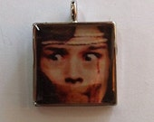 Dario Argento Terror at the Opera Pendent Cast with Resin, Horror, Cult, Italian