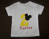 Mickey Mouse Birthday T-Shirt...Party Idea...Photo Prop