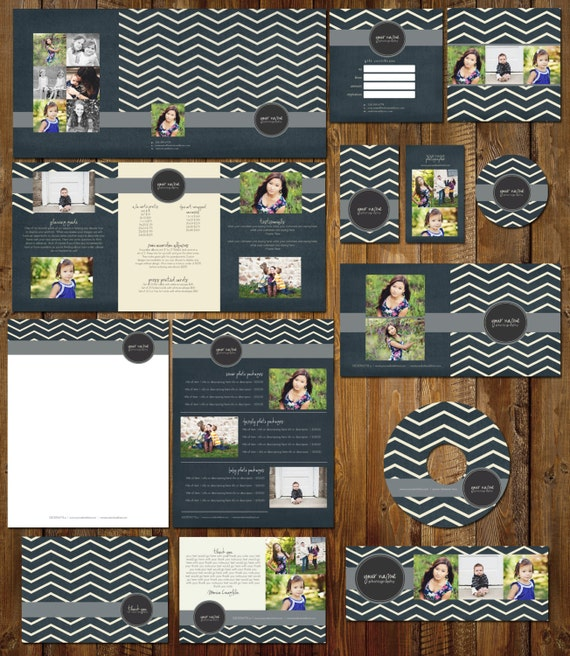 Boutique Marketing Package - Color Change Zig Zag- Photography