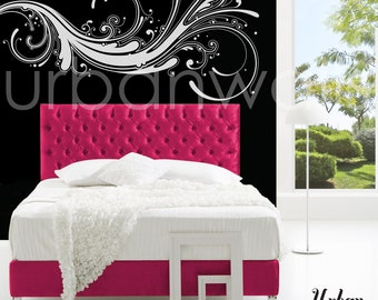 Vinyl Wall Sticker Decal Art - Modern Swirl
