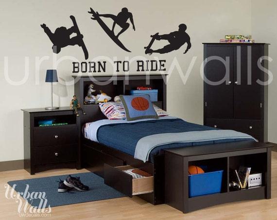 Vinyl Wall Sticker Decal Art - Born To Ride