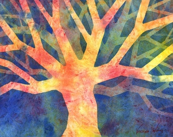 Tree of Giving - Signed Fine Art Giclee Print