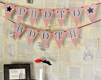 DIY Printables - Photo Booth Banner