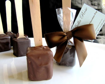 Milk Chocolate Hot Chocolate on a Stick