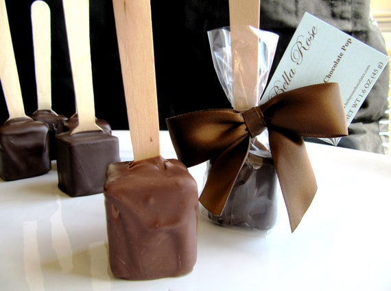 Milk Chocolate Hot Chocolate on a Stick