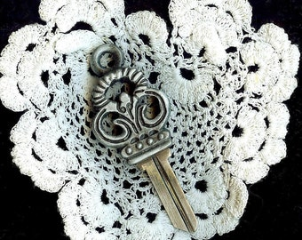 antique key blank