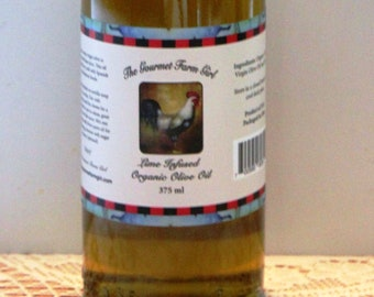 Lime Infused Organic Olive Oil